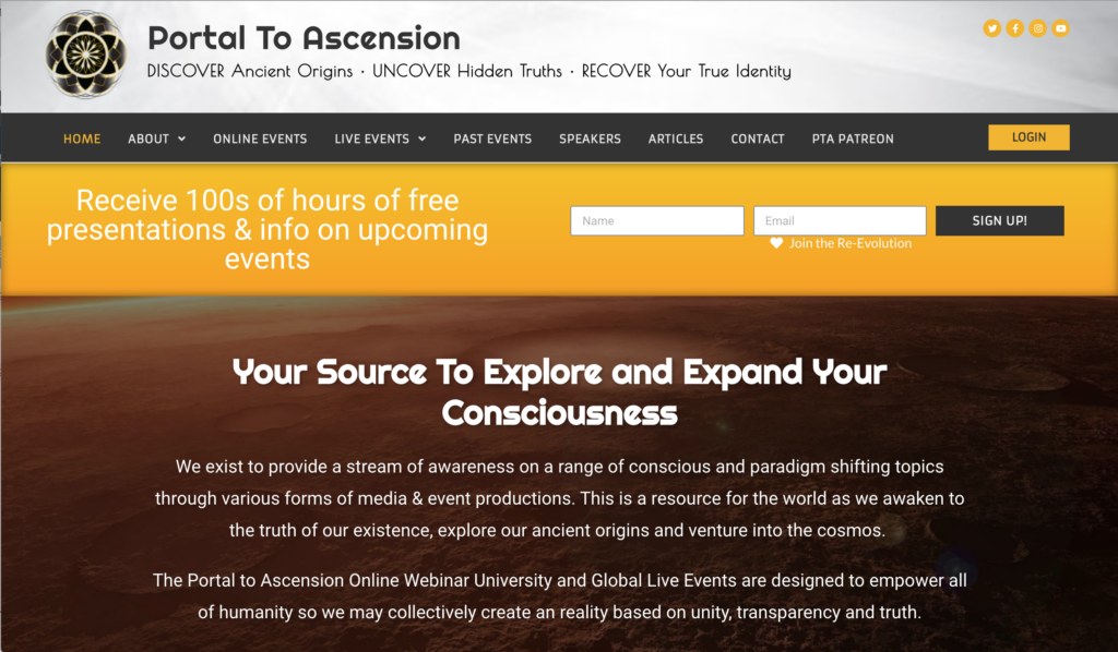 Barbara Lamb to speak at The Hybrid Conference at Portal to Ascension